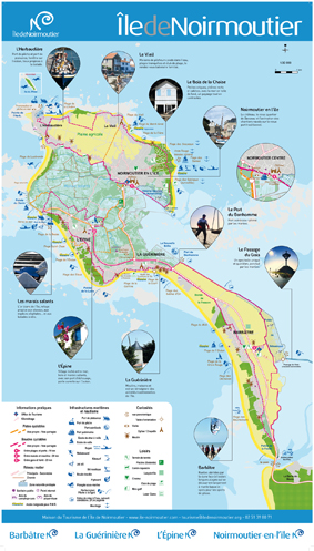 Les pistes cyclables barb tre - Office du tourisme ile de noirmoutier ...