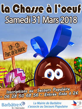 Chasse à l'oeuf 2018