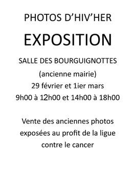 Expo Photos d'Hiv'Her