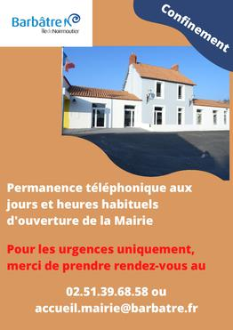 Permanences Mairie